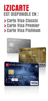 izicarte la carte bancaire qui est aussi une carte de cr dit et vice versa caisse d 39 epargne. Black Bedroom Furniture Sets. Home Design Ideas