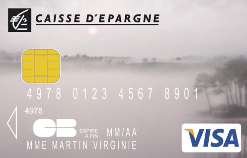 Choisissez Le Visuel De Votre Carte Caisse Depargne