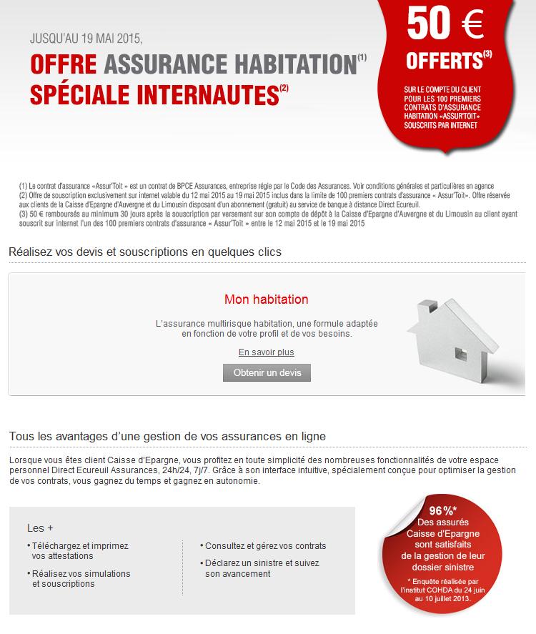 Assurance maison caisse d epargne 28 images assurance for Assurance maison