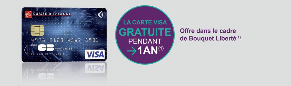 Credit bank personnel visa gratuite - Plafond carte bancaire caisse epargne ...