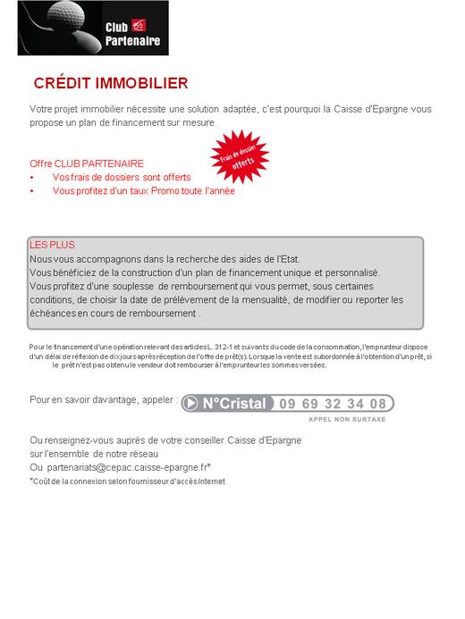 Club Partenaire Ecureuil Caisse D Epargne